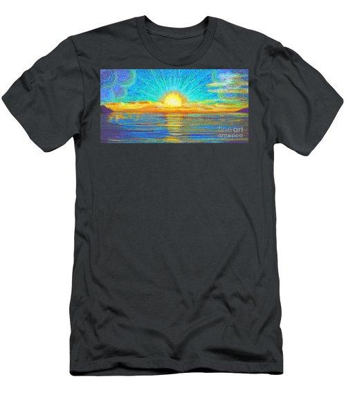 Beach 1 6 2019 Men's T-Shirt (Athletic Fit)