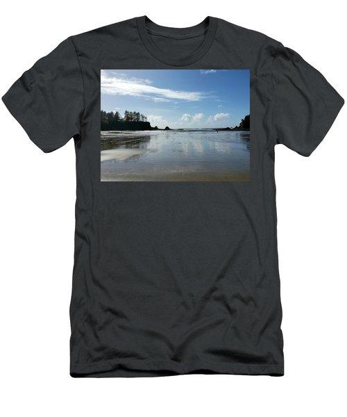 Beach Blues Men's T-Shirt (Athletic Fit)