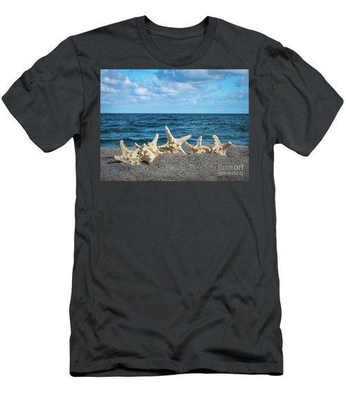 Beach Dance Men's T-Shirt (Athletic Fit)
