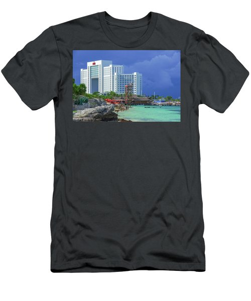 Beach Life In Cancun Men's T-Shirt (Athletic Fit)