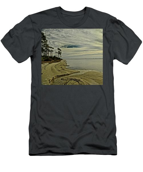 Beach Sunrise Men's T-Shirt (Athletic Fit)