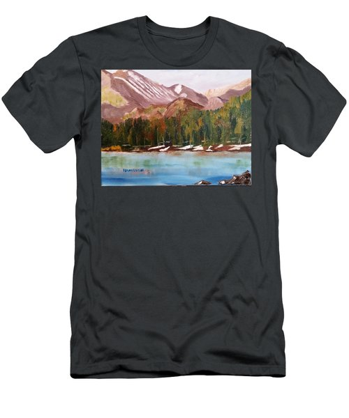 Bear Lake And The Keyboards Men's T-Shirt (Athletic Fit)