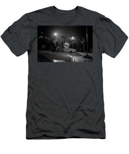 Beatles First American Concert - British Invasion Begins 1964 Men's T-Shirt (Athletic Fit)