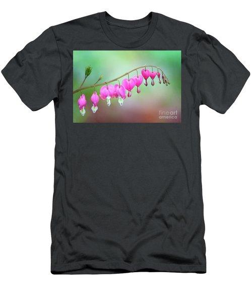 Beautiful Bleeding Hearts Men's T-Shirt (Athletic Fit)