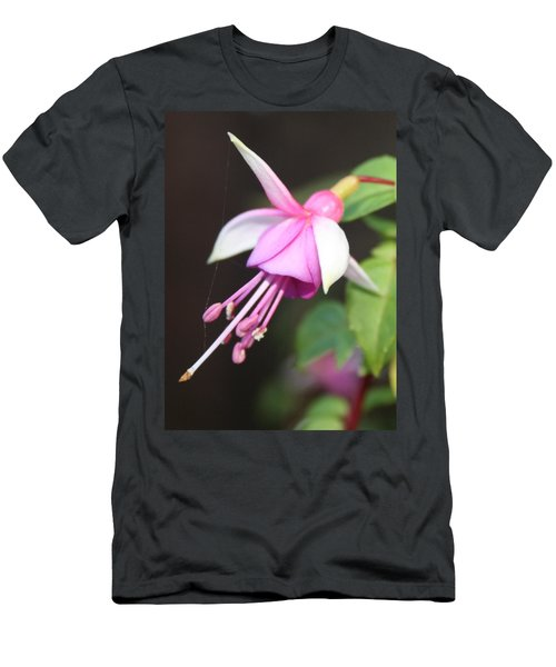 Beautiful Fuchsia Men's T-Shirt (Athletic Fit)