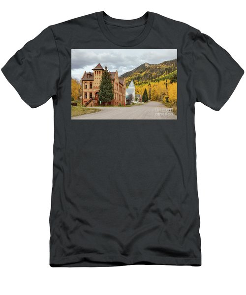 Men's T-Shirt (Athletic Fit) featuring the photograph Beautiful Small Town Rico Colorado by James BO Insogna