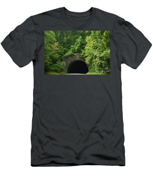 Beautiful Tunnel With Greenery, Nc Men's T-Shirt (Athletic Fit)
