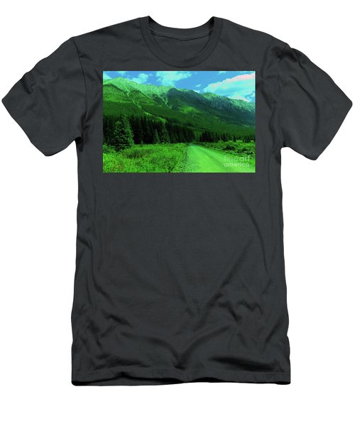 Beauty Along The Way Men's T-Shirt (Athletic Fit)