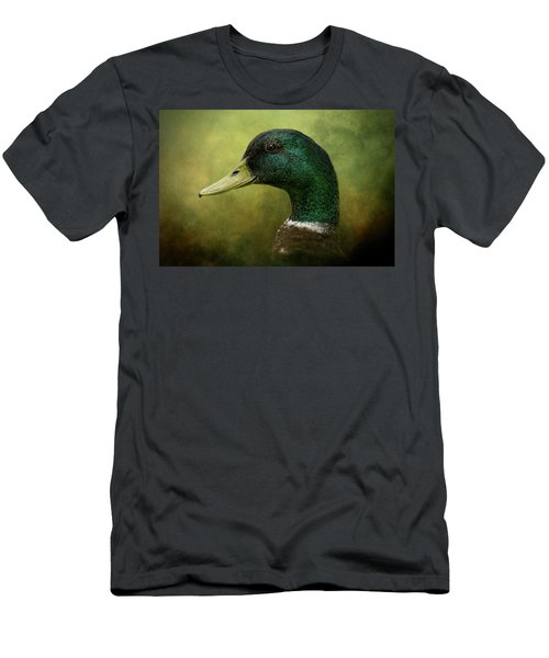 Beauty In Green Men's T-Shirt (Athletic Fit)