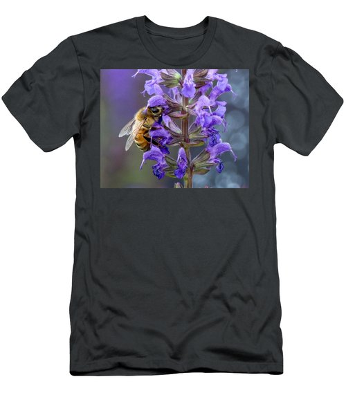 Bee-utiful Pollinator Men's T-Shirt (Athletic Fit)