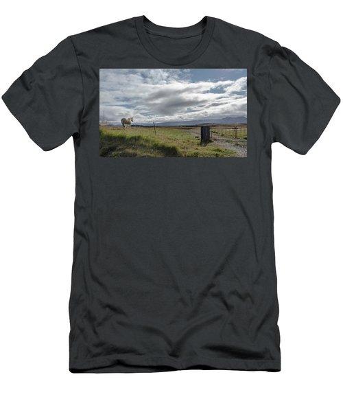 Behold A Pale  Horse Men's T-Shirt (Athletic Fit)