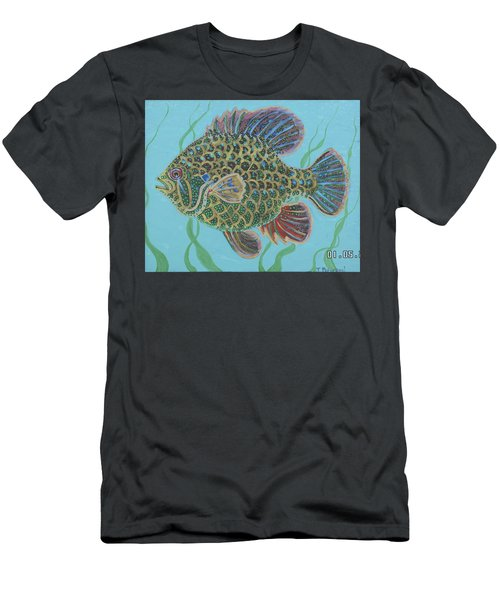 Bejeweled Bluegill Men's T-Shirt (Athletic Fit)