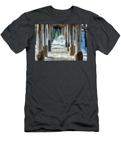 Below The Pier Men's T-Shirt (Athletic Fit)
