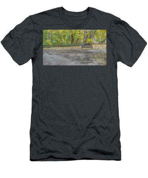 Bench @ Sharon Woods Men's T-Shirt (Athletic Fit)