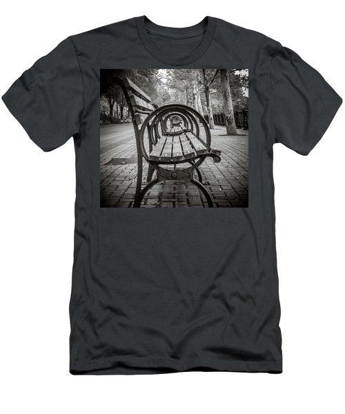 Bench Circles Men's T-Shirt (Athletic Fit)