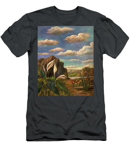 Beneath The Clouds Of Africa Men's T-Shirt (Athletic Fit)