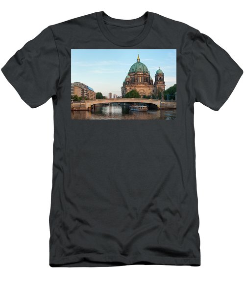 Berliner Dom And River Spree In Berlin Men's T-Shirt (Athletic Fit)