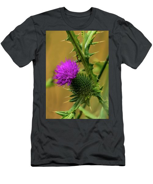 Between The Flower And The Thorn Men's T-Shirt (Athletic Fit)