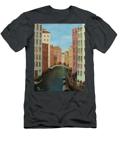 Beyond The Grand Canal Men's T-Shirt (Athletic Fit)