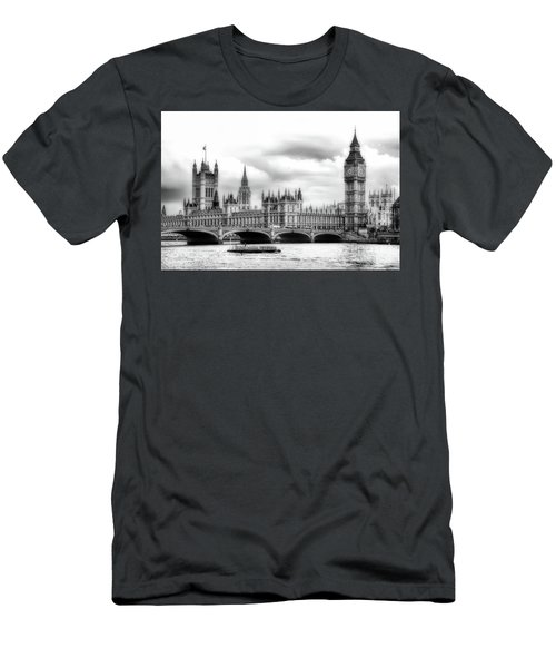 Big Clock In London Soft Men's T-Shirt (Athletic Fit)