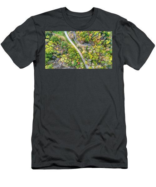 Bird Eye View Men's T-Shirt (Athletic Fit)