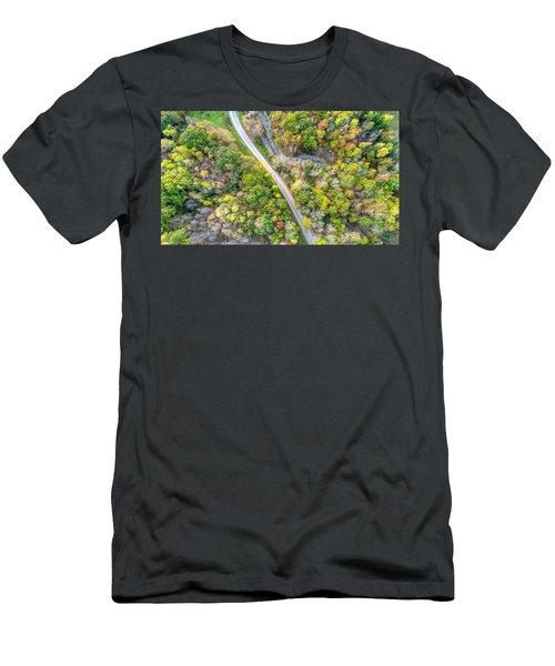 Bird Eye View Men's T-Shirt (Athletic Fit)