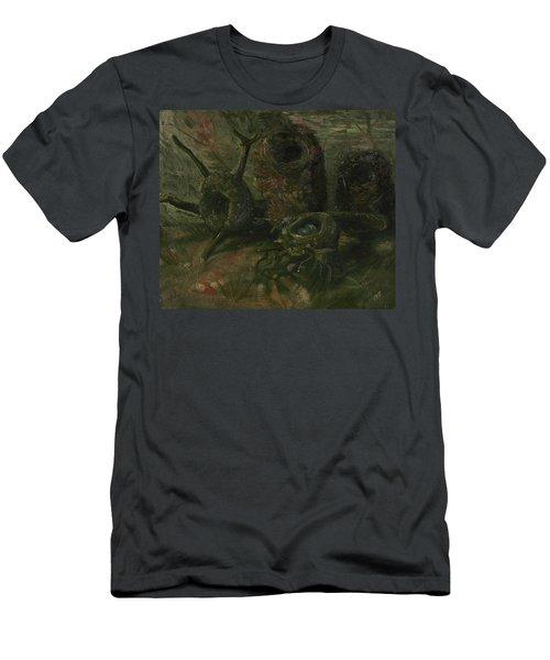 Birds' Nests - 1 Men's T-Shirt (Athletic Fit)