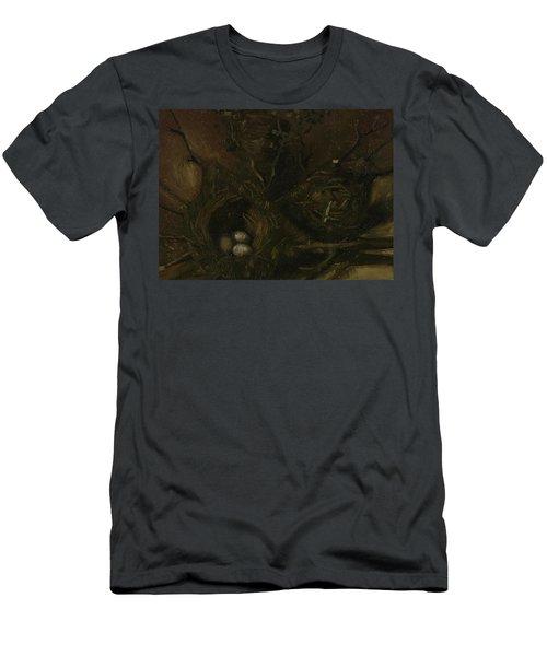 Birds' Nests Men's T-Shirt (Athletic Fit)