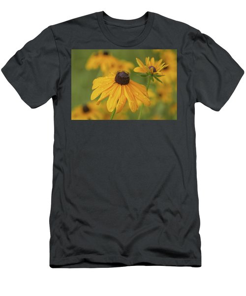 Men's T-Shirt (Athletic Fit) featuring the photograph Black-eyed Susans by Dale Kincaid