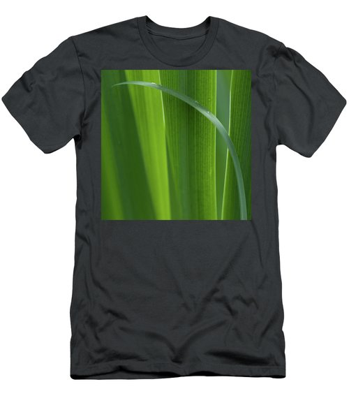 Men's T-Shirt (Athletic Fit) featuring the photograph Blades 8587 by Mark Shoolery