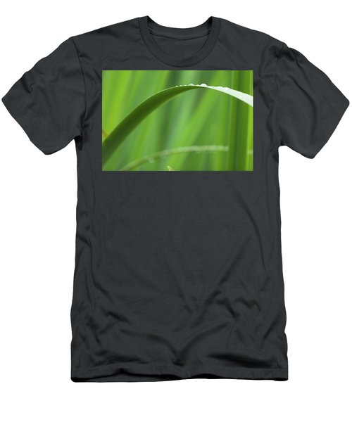 Men's T-Shirt (Athletic Fit) featuring the photograph Blades 8594 by Mark Shoolery