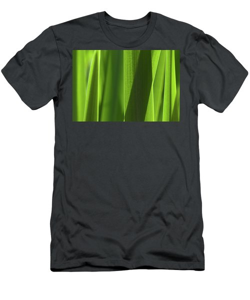 Men's T-Shirt (Athletic Fit) featuring the photograph Blades 8851 by Mark Shoolery