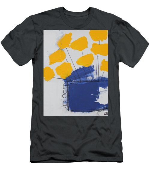 Men's T-Shirt (Athletic Fit) featuring the painting Bloom by Kim Nelson