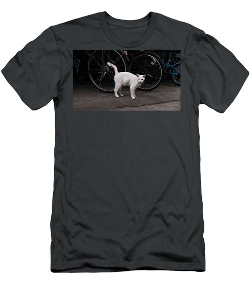 Blue IIi Men's T-Shirt (Athletic Fit)