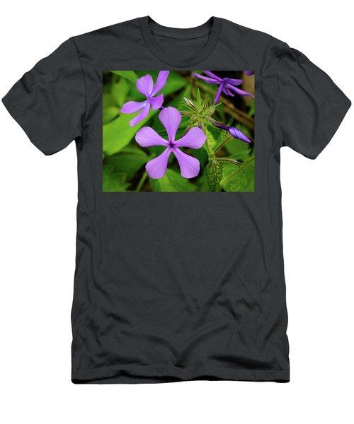 Blue Phlox Men's T-Shirt (Athletic Fit)