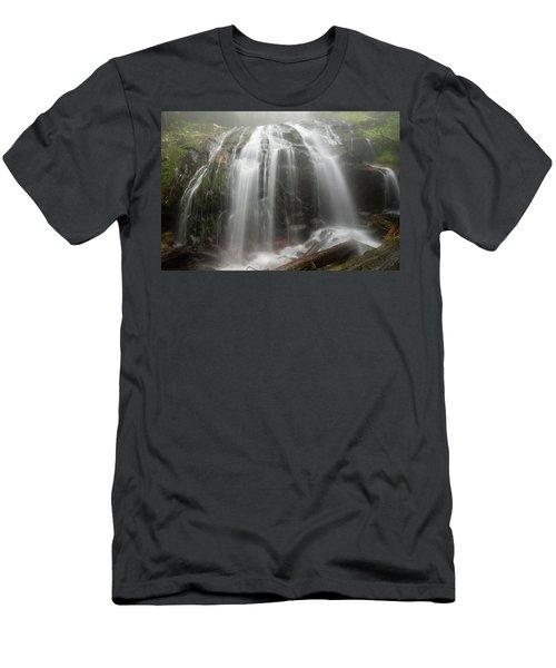 Blue Ridge Mountain Falls Men's T-Shirt (Athletic Fit)