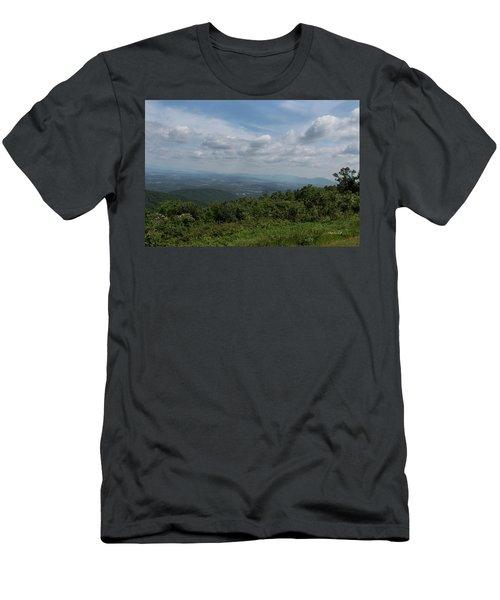 Blue Ridge Mountain Views II Men's T-Shirt (Athletic Fit)