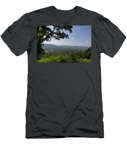 Blue Ridge Mountain Views Iv Men's T-Shirt (Athletic Fit)