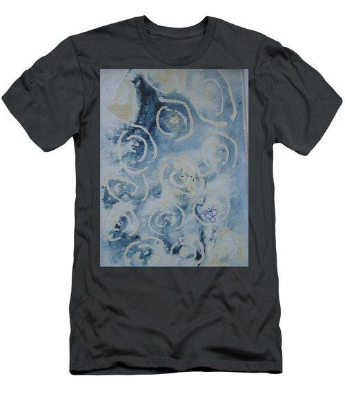 Blue Spirals Men's T-Shirt (Athletic Fit)