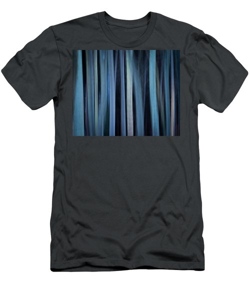 Blue Trees 1 Men's T-Shirt (Athletic Fit)