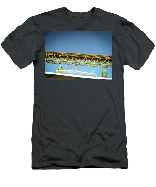 Men's T-Shirt (Athletic Fit) featuring the photograph Blue, Yellow And Green by Juan Contreras