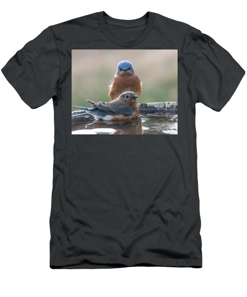 Bluebird Gothic Men's T-Shirt (Athletic Fit)