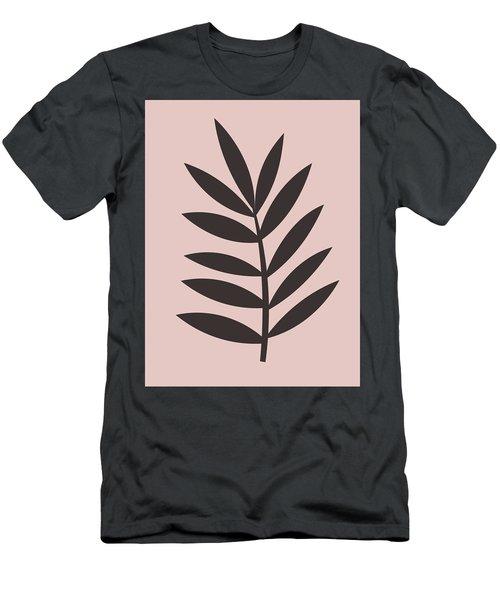 Blush Pink Leaf I Men's T-Shirt (Athletic Fit)