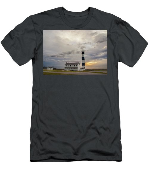 Bodie Island Lighthouse No. 2 Men's T-Shirt (Athletic Fit)