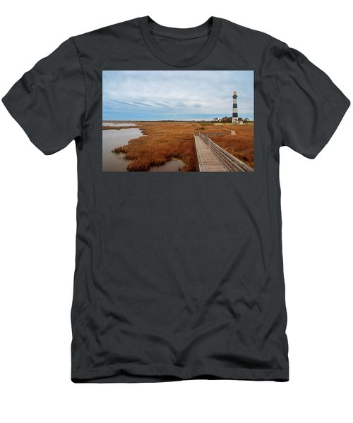 Bodie Island Lighthouse No. 3 Men's T-Shirt (Athletic Fit)