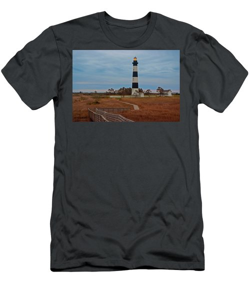 Bodie Island Lighthouse No. 4 Men's T-Shirt (Athletic Fit)
