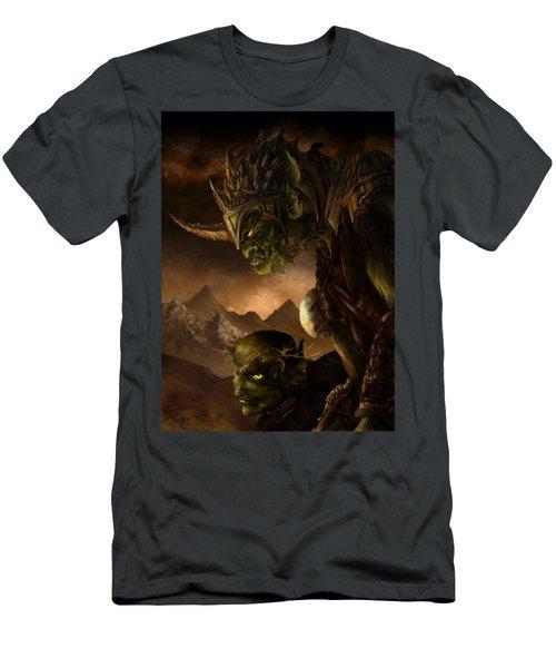 Bolg The Goblin King Men's T-Shirt (Athletic Fit)