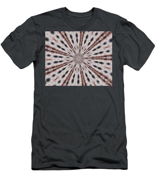 Boston Terrier Mandala Men's T-Shirt (Athletic Fit)