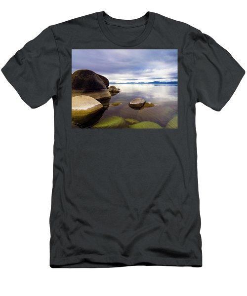 Boulders At Sand Harbor Men's T-Shirt (Athletic Fit)