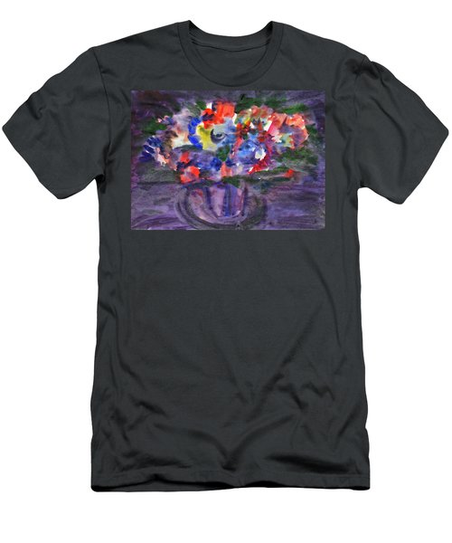 Bouquet In The Dark Men's T-Shirt (Athletic Fit)